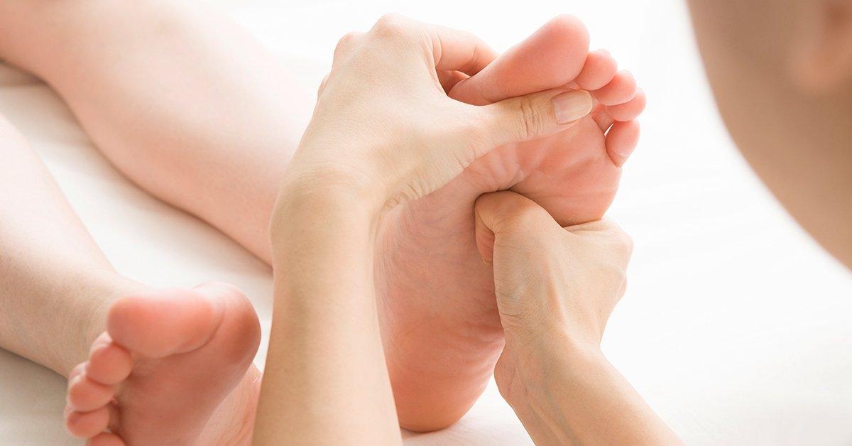 Lazító és pihentető: 50 perces talpreflexológia