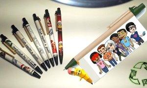 Egyedi, környezetbarát toll