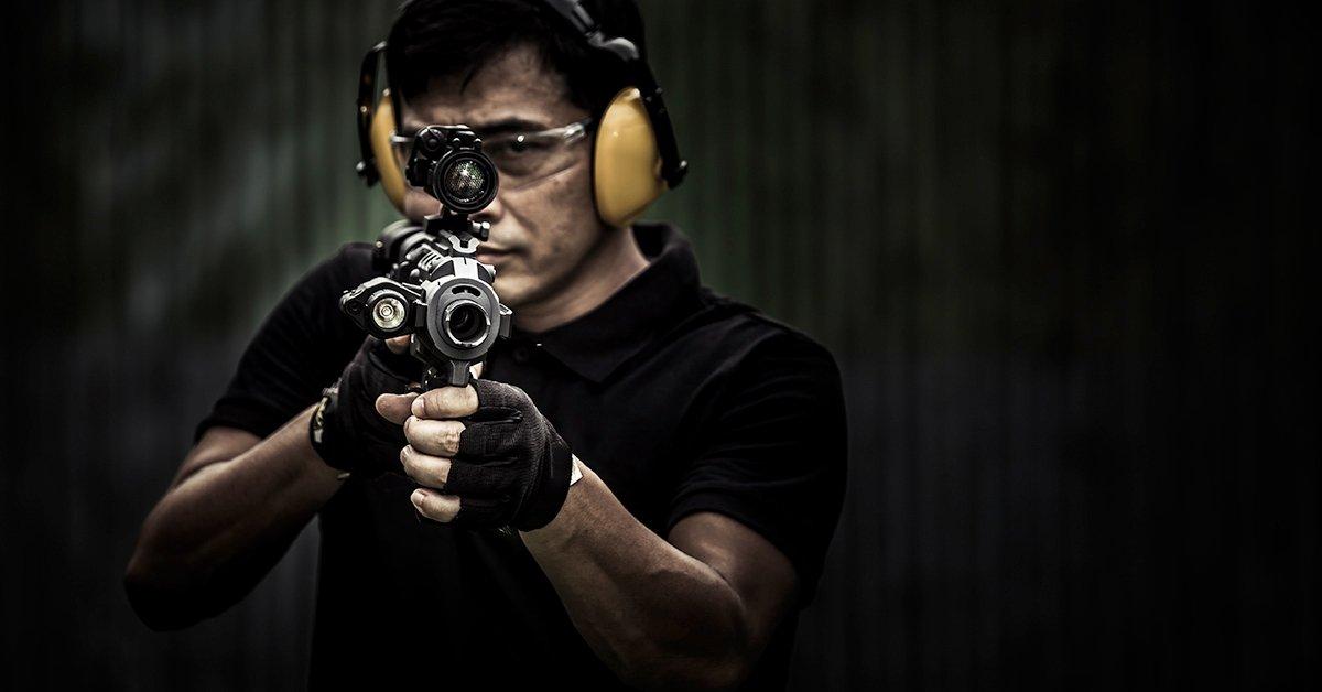 Nagy kaliberes lövészet: 46 lövés 5 fegyverrel