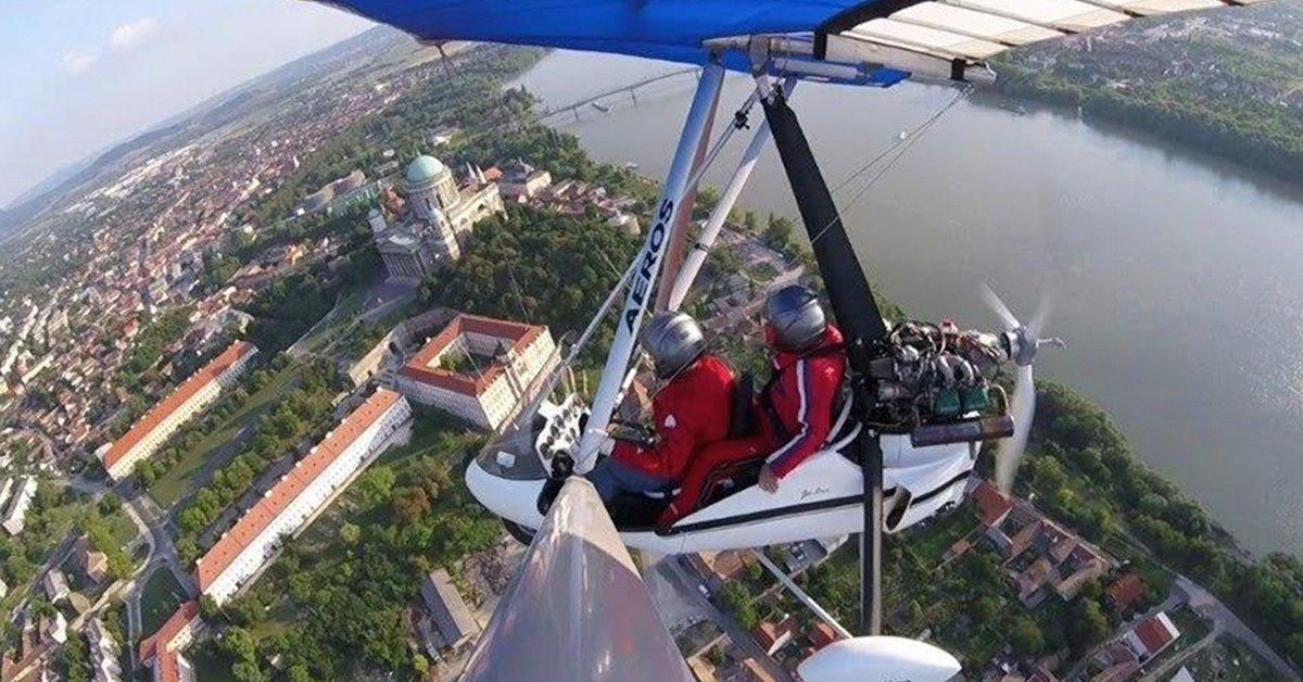 Budapest madártávlatból: sétarepülés sárkányrepülővel