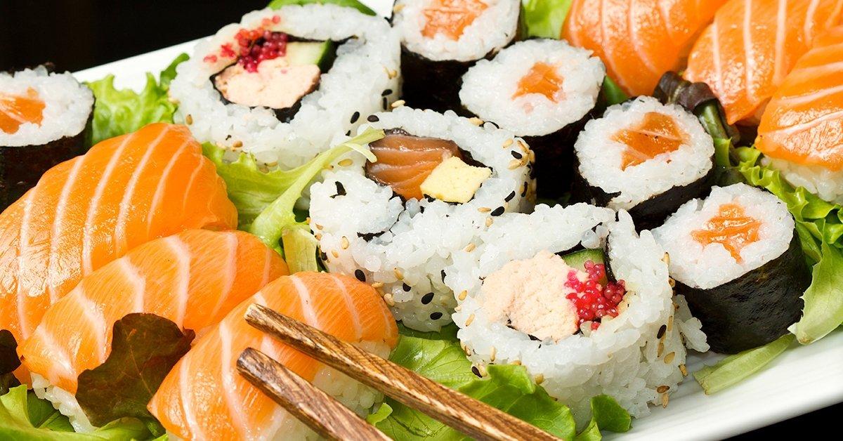 Sushi combo menü 1 fő részére házhozszállítással