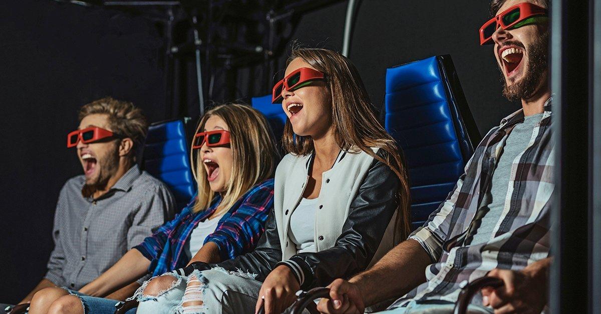 5D mozi és Tükörlabirintus belépőjegy 1 vagy 2 fő részére
