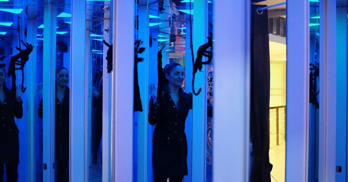 Tükörlabirintus: A félelem útja belépő 1 vagy 2 fő részére