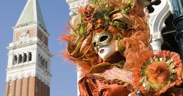 Buszos utazás idegenvezetővel a velencei karneválra 1 főnek