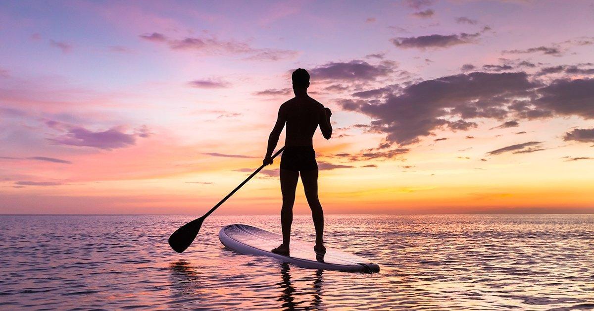 Egy órás Stand Up Paddle (SUP) naplemente túra 1 fő részére