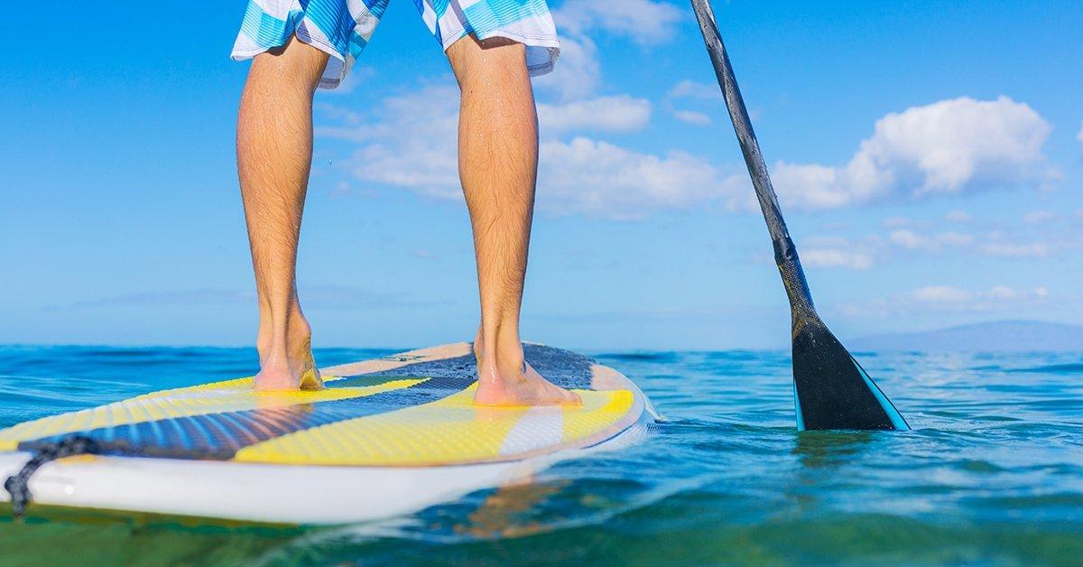 4 db Stand Up Paddle (SUP) kölcsönzés 1 órára a Balatonon