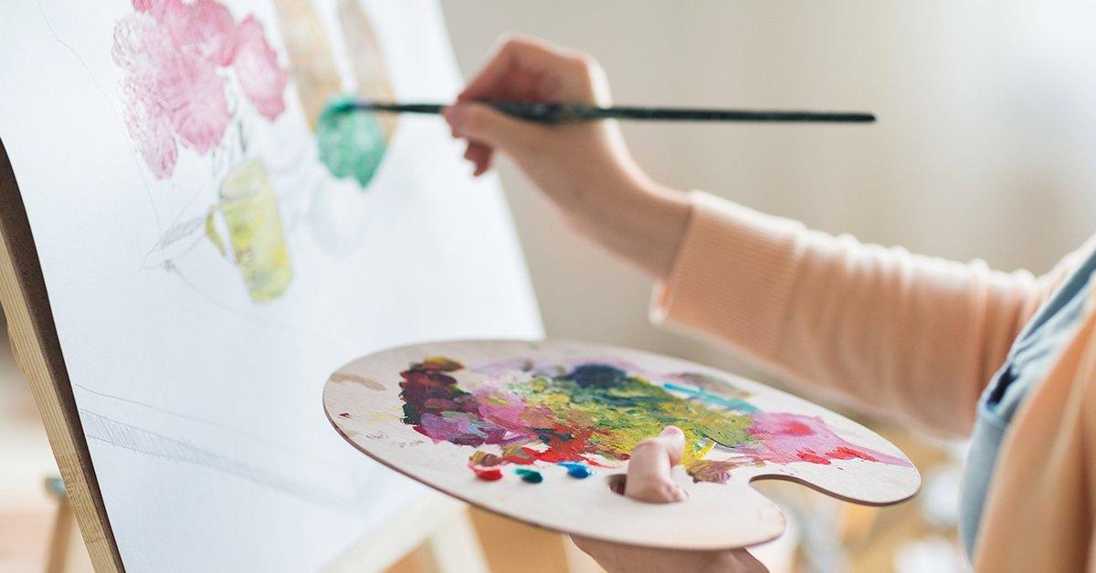 Fess velem: KÉPes vagy rá - festmény-készítő workshop