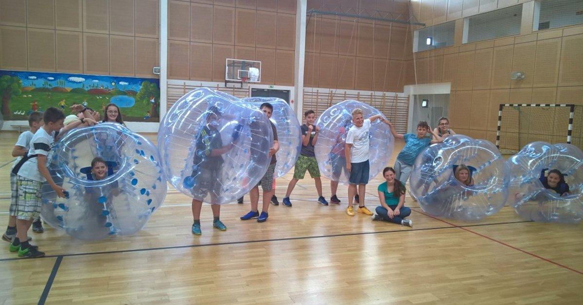 Gigafoci őrület: rendelj buborékfocit rendezvényedre