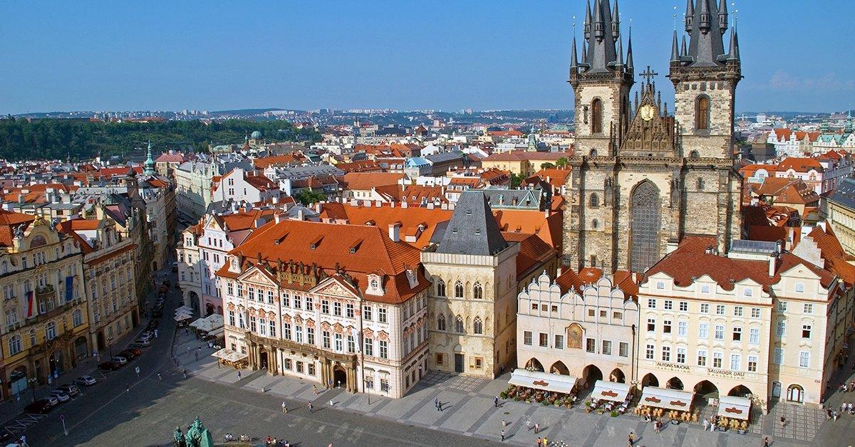 Háromnapos páros pihenés Prágában, reggelivel