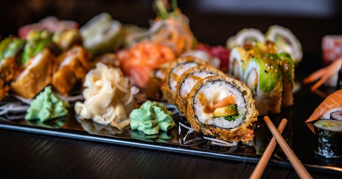 Tavaszi sushiválogatás