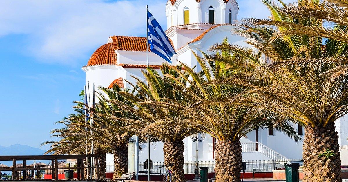 Előszezoni pihenés Görögországban, az Olymposz közelében