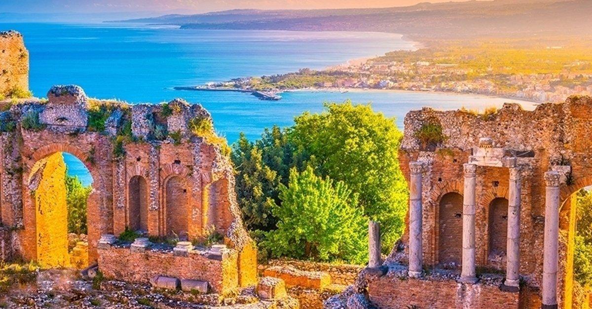 Buszos utazás Szicíliába reggelivel, idegenvezetéssel