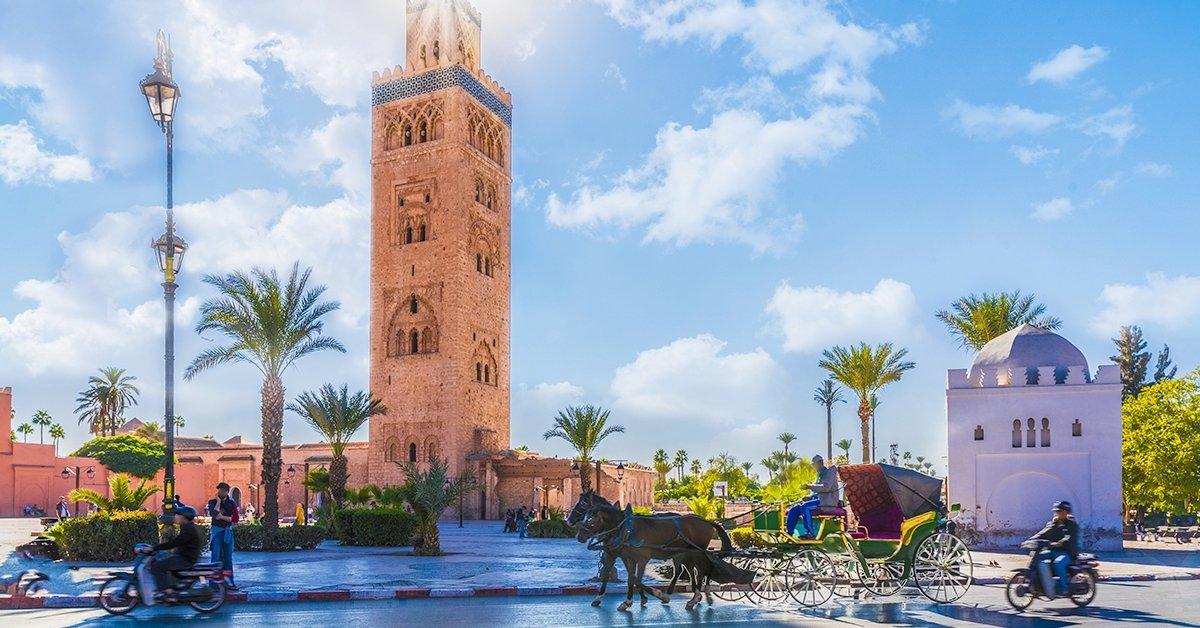 Marrakesh repülővel: 4 napos városlátogatás reggelivel