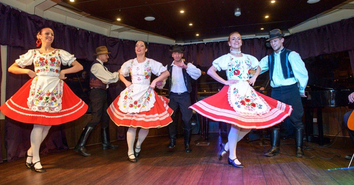 4 fogásos hajós vacsoraest operett és folklór műsorral