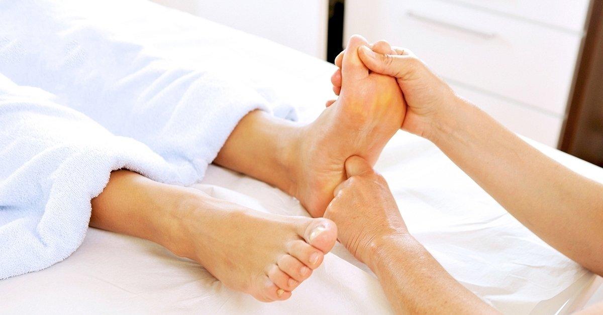 Talpreflexológiás kezelés