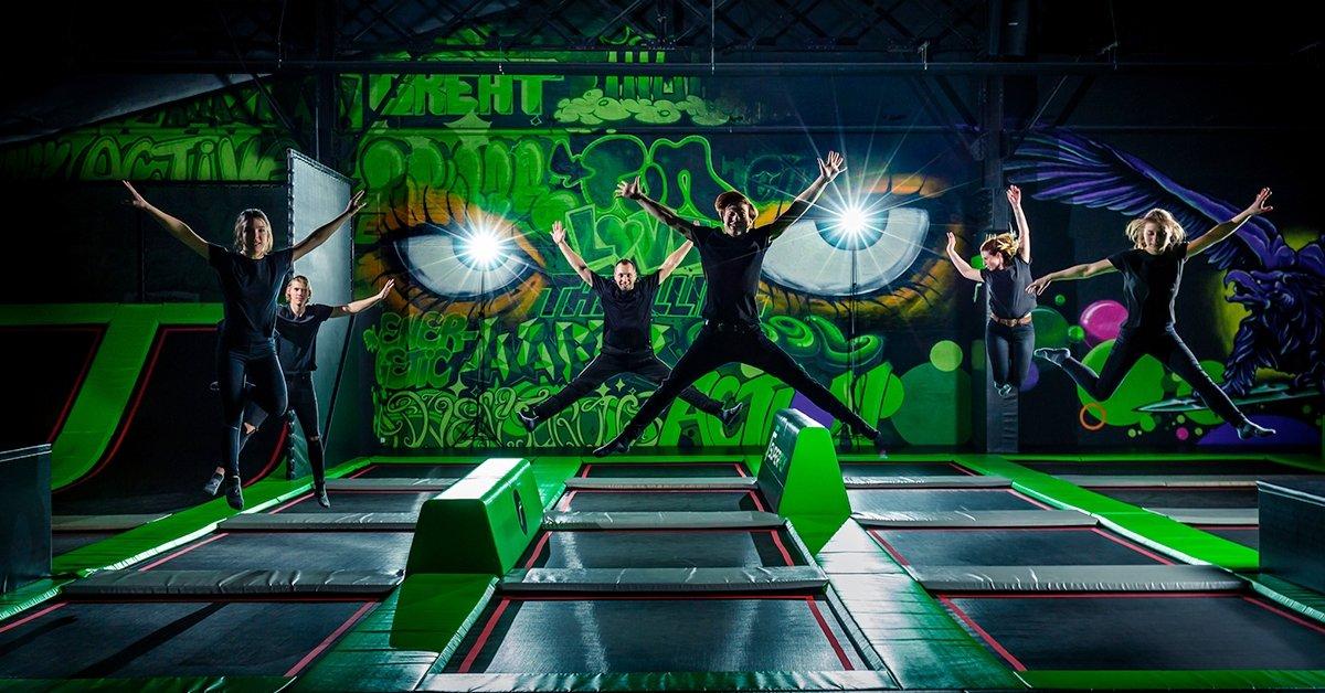 Superfly trambulinpark belépő