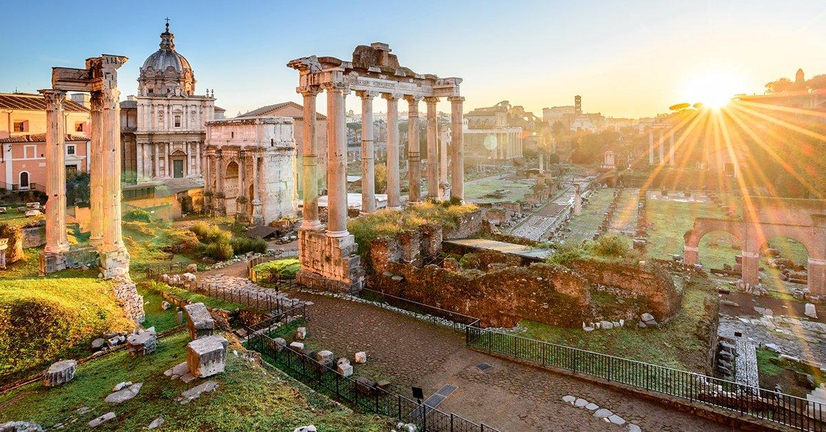 Római városnézés repülővel