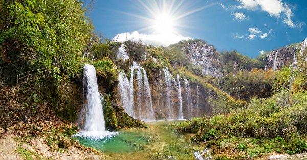 Busszal a Plitvicei-tavakhoz: 1 napos kirándulás 1 főnek