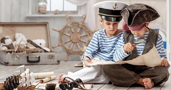 Hajókázós Kalóz Gyermek Show kincskereséssel a Balatonon