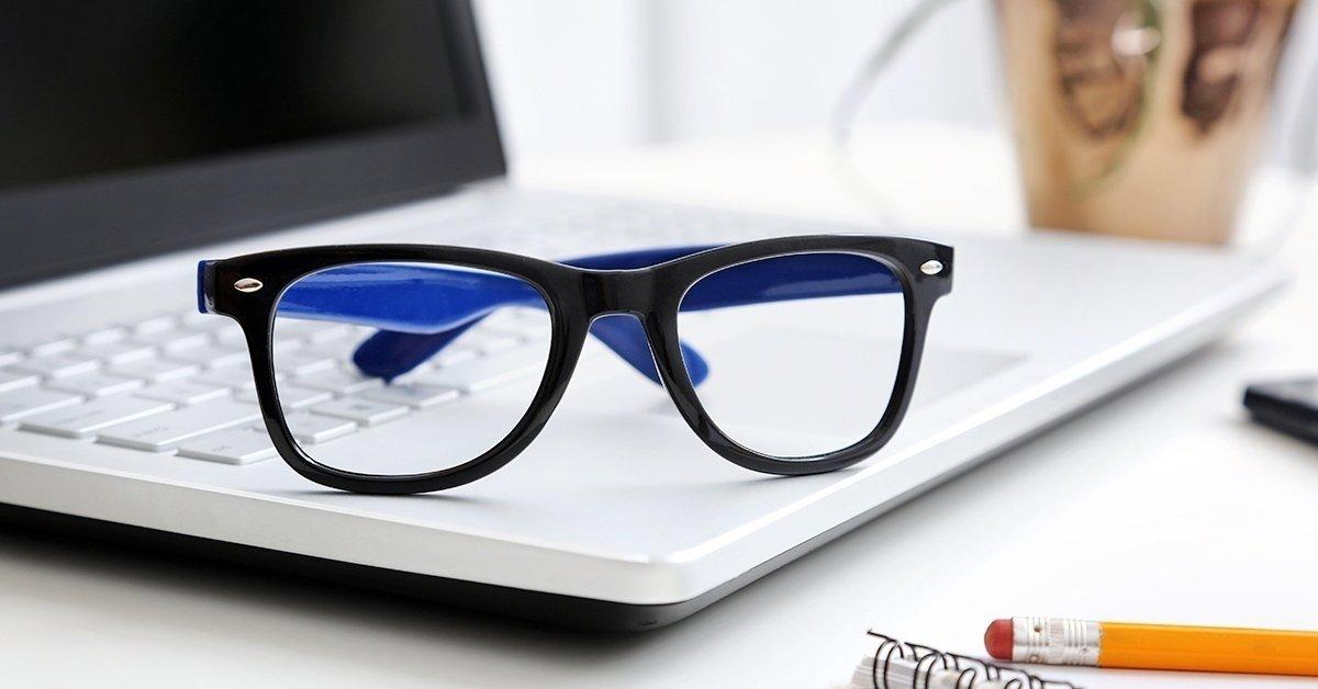 Monitorszűrős szemüveg