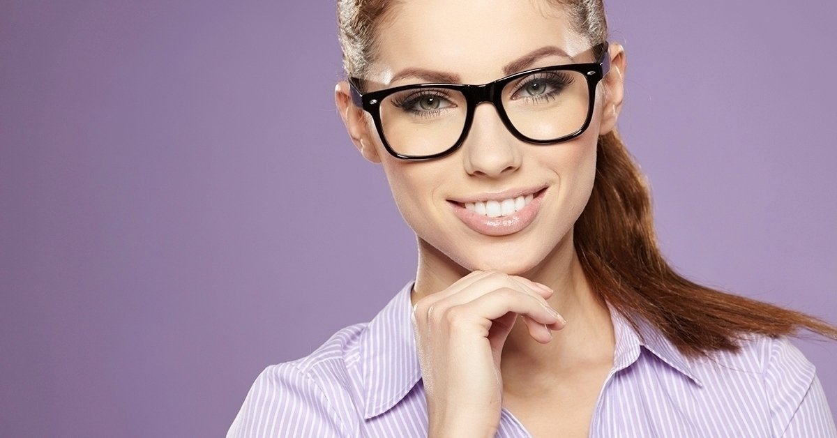 Vékonyított lencsés szemüveg
