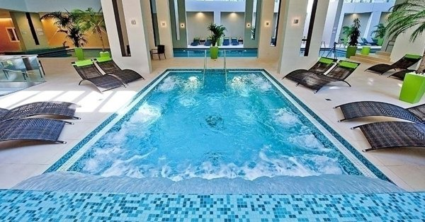 Luxus wellness az Abacus Hotelben, Herceghalmon két főnek