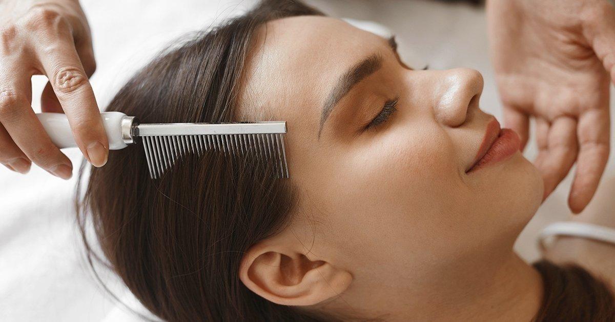 Keratinos hajsimítás