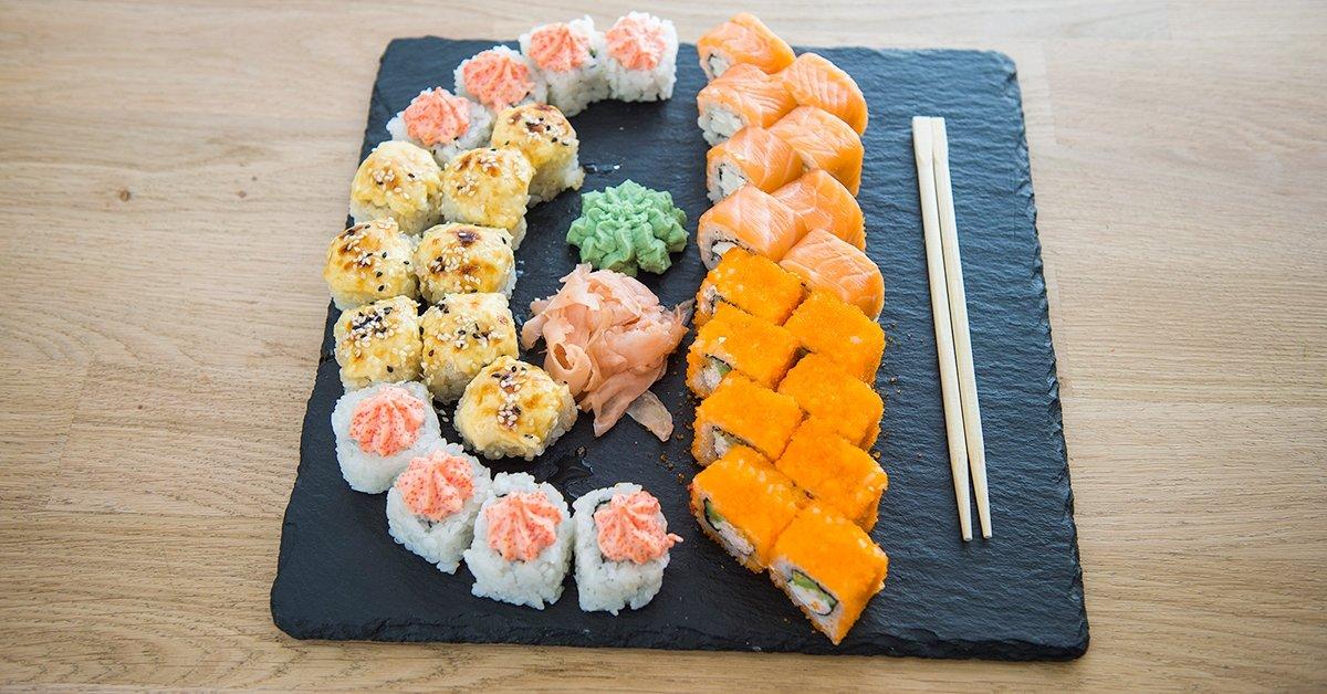 Sült sushi szettek