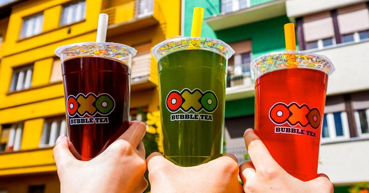 OXO Bubble Tea hűségkártya