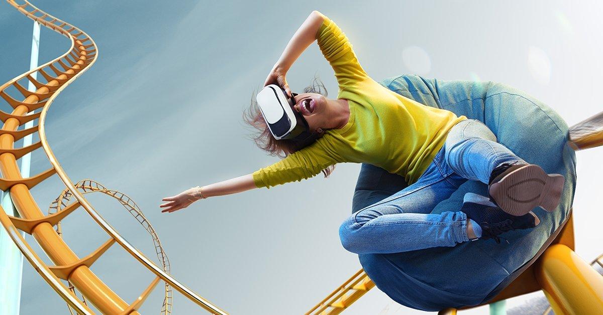 Six Flags VR vidámpark