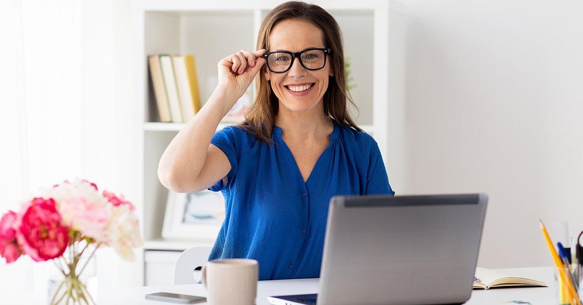Komplett irodai szemüveg