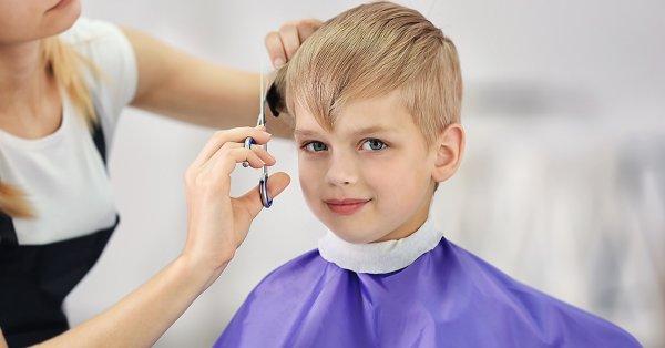 Gyermek hajvágás választható mosással, bármilyen hajhosszra