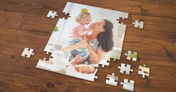 Egyedi, A/4-es méretű puzzle a saját fotódból
