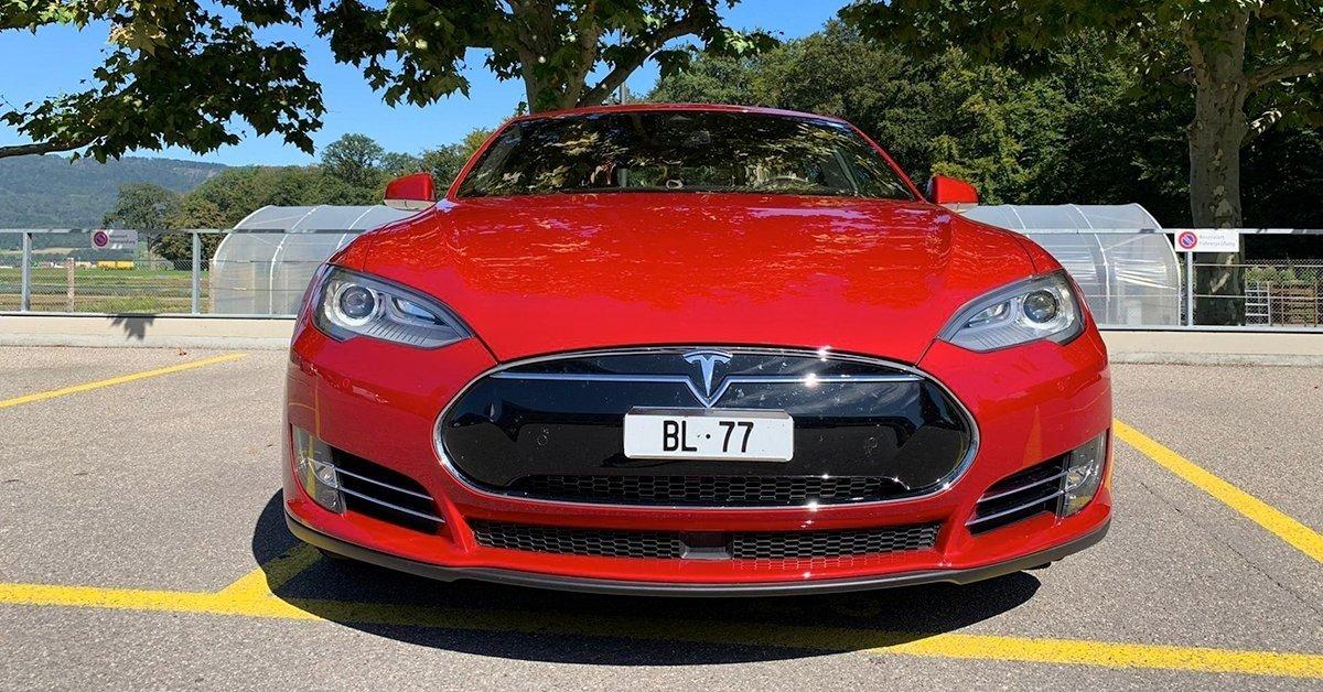 Tesla S bérlés