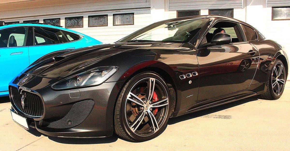 Maserati Granturismo vezetés