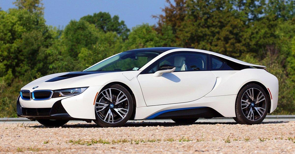 BMW i8 vezetés