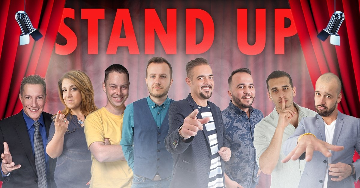 Februári stand up comedy