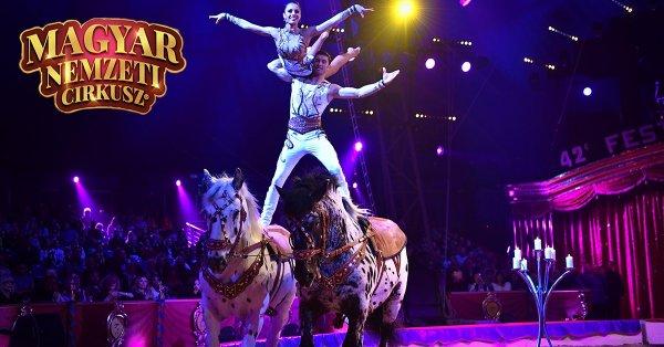 Magyar Nemzeti Cirkusz: THE SHOW MUST GO ON belépőjegy