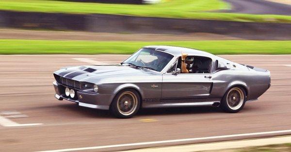 Mustang GT Eleanor 1967 élményvezetés a Hungaroringen