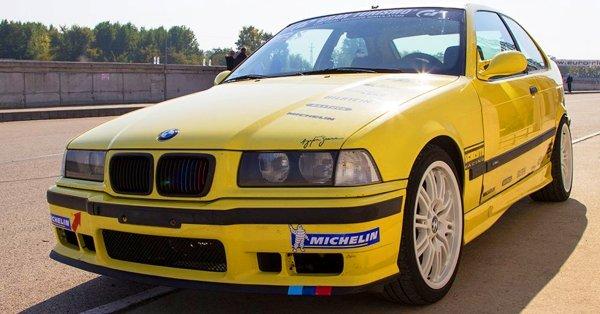 BMW M Compact élményvezetés a Hungaroringen kisfilmmel