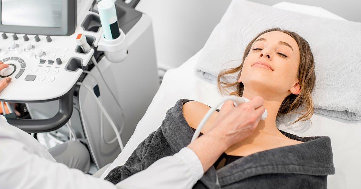 Pajzsmirigy ultrahang