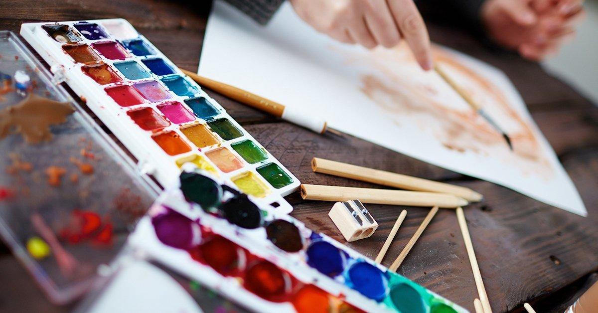 Akvarell élményfestés