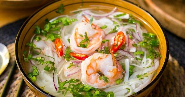 Vietnam kedvence: Pho leves választható hússal, elvitelre