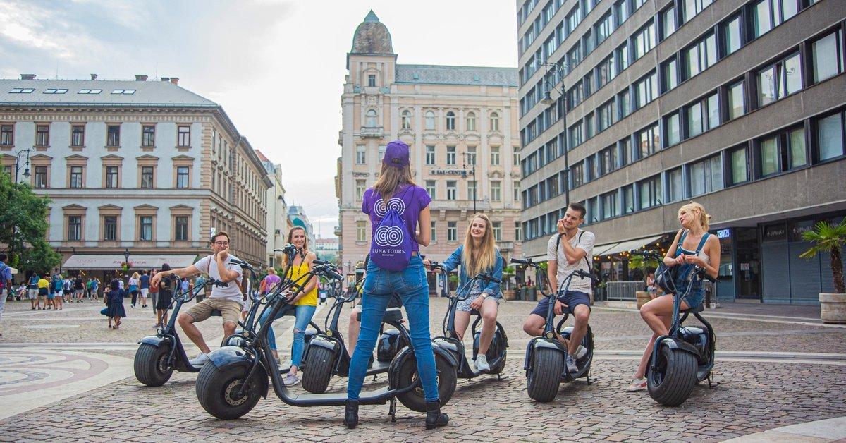 LUNA E-scooter bérlés