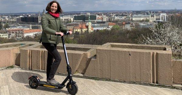 Fedezd fel Budapestet: Doc Green elektromos roller bérlés