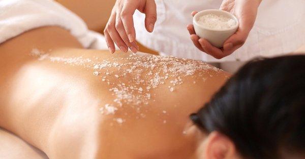 A szép és egészséges bőrért: 60 perces kozmetikai sómasszázs