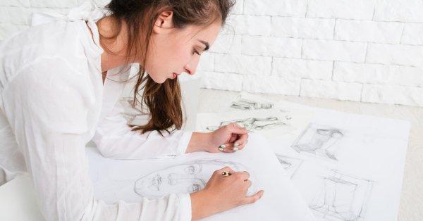 8 órás, online jobb agyféltekés portré rajzolás tanfolyam