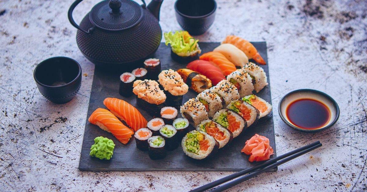 Édes kettes sushi menü