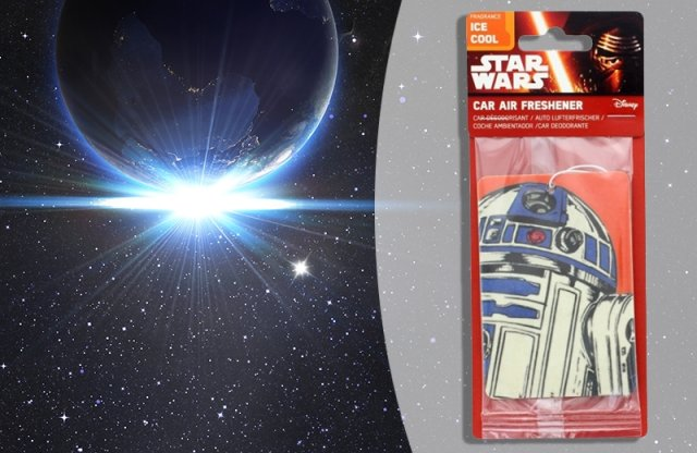 Légfrissítő - R2D2 - Star Wars, Ice cool + több tipusban