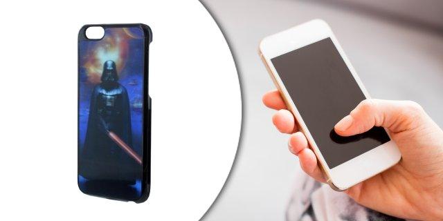 iPhone 6/6s holografikus szilikon védőtok, Star Wars - Vader